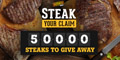 Free Beefeater Steak Meal