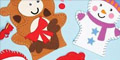 Free Christmas Hand Puppet Sewing Kits