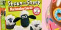 Free Shaun the Sheep Cake Mix Kits