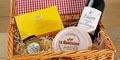 Free Le Rustique Cheese, Cake & Wine Hamper
