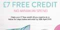 Free �7 to spend on Snapfish