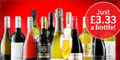 12 Bottles of Wine for £39.99 at Virgin Wines