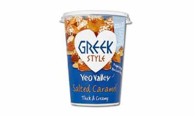 Free Yeo Valley Salted Caramel Greek Style Yogurt