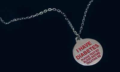 Free Diabetes Awareness Necklaces