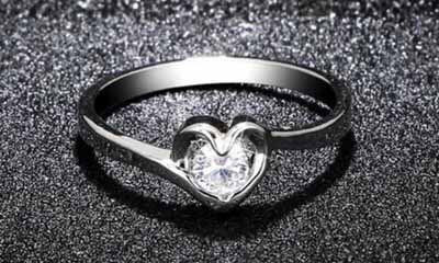 Free Heart Shape Luxury Ring