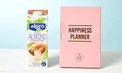 Free Happiness Planners & Alpro Drinks