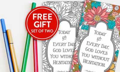 Free Colouring Pencils & Bookmark