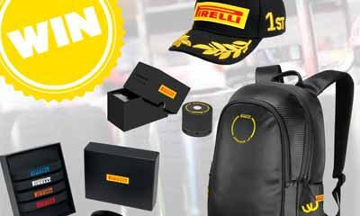Win 1 of 5 Pirelli Racing Packs with Kwik Fit