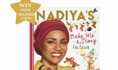 Win a Copy of Nadiya Hussain's new Bake Me A Festive Story