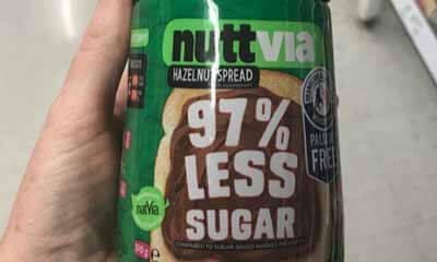 Free Nuttvia Hazelnut Chocolate Spread