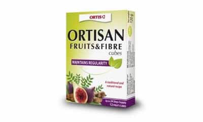 Free Fruits & Fibres cubes from Ortis