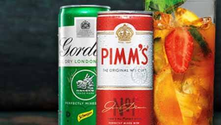 Free stuff free pimms or gordons dry gin mixed drinks for What to mix with pimms