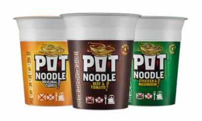 Free Curry Flavour Pot Noodle