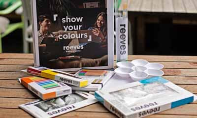 Win 1 of 10 Reeves Watercolour and Brush Sets