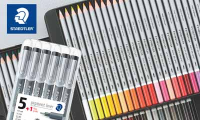 Win 1 of 5 Staedtler Watercolour Pencil Sets
