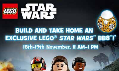 Free Lego Star Wars BB8 Toy