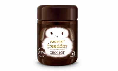 Free Jar of Sweet Freedom Choc Pot