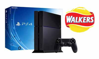 Free Sony PS4 Games Consoles from Walkers
