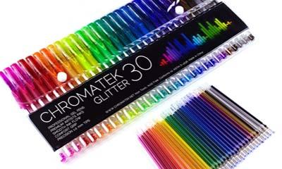 Free 300 Packs of Glitter Pens