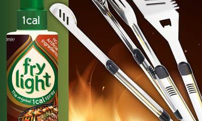 Free Frylight BBQ Oil & BBQ Kits