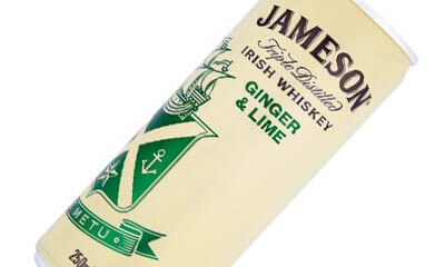 Free Jameson Whisky Ginger & Lime Drinks