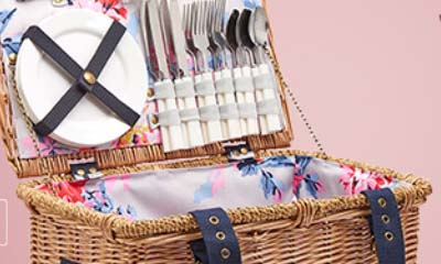 Free Joules & Seriously Cheddar Picnic Hampers