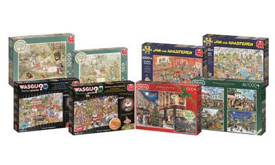 Win 1 of 4 Jumbo Games Puzzle Bundles