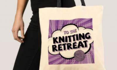 Free Knitting Tote Bags