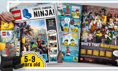 Free Lego Magazine for Kids Aged 5-9 years