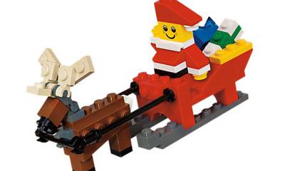 Free Lego Reindeer Sleigh Toy