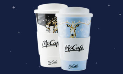 Free Christmas Reusable Cups from McDonald's