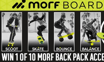 Win a Morfboard Accessory Backpack with Argos