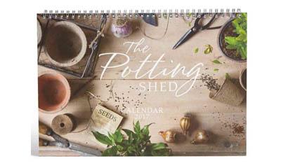 Free Potting Shed 2019 Calendar