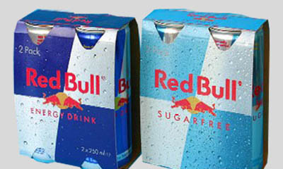 Free Twin Packs of Red Bull