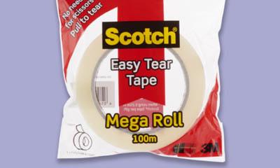 Free Scotch Mega Tape Roll