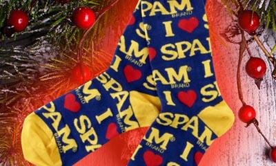 Free Spam Branded Socks