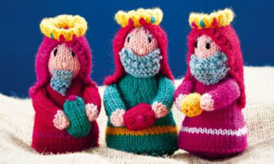Free 'Three Kings' Knitting Pattern