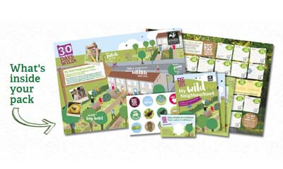 Free Stickers and Posters Sets from Wildlife Trust