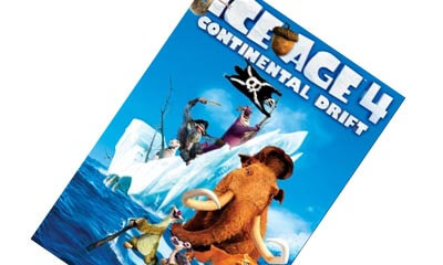 Free DVD - Ice Age 4: Continental Drift