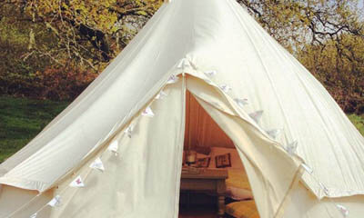 Win a Luxury Canvas Bell Tent