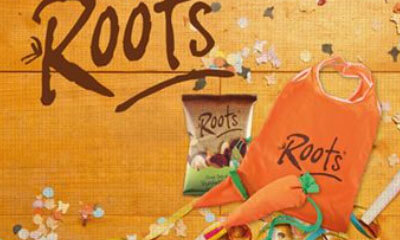 Win 1 of 10 Roots Tote Bags & Vegetable Crisps