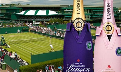 Win a Day at Wimbledon with Lanson & World Duty Free