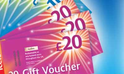 Win 1 of 5 �100 Iceland Vouchers