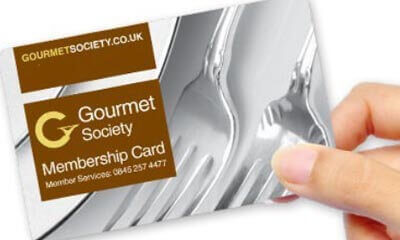 Free Gourmet Society Discount Dining Card