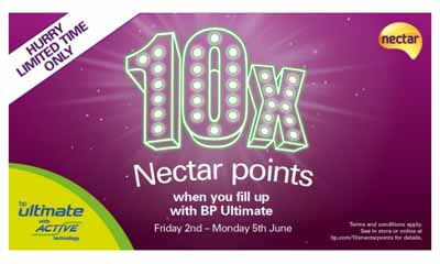 Free Nectar Points x10 from BP