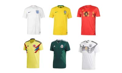 Win a World Cup Football Shirt