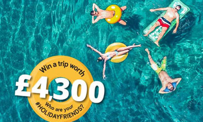 Win a Family Holiday worth £4,300