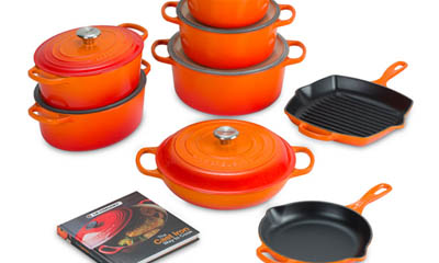 Win a Le Creuset Cast Iron Cookware Set