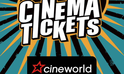 Free Cineworld Cinema Tickets