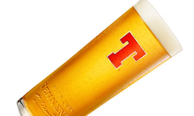 Free Tennent's Personalised Pint Glasses